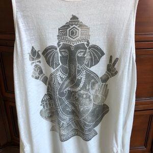 Lucky Brand yoga elephant tank